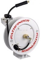Redashe Pathfinder Hose Reel Only - Without Hose - Heavy Duty Steel