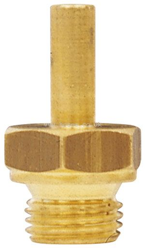 Bspp stand pipe adaptors metric brass compression fittings