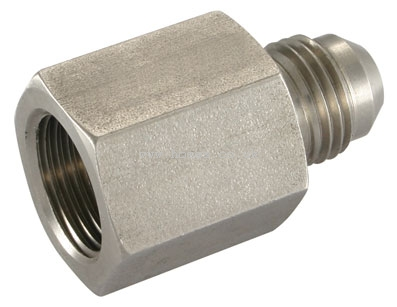 Universal Bspp Female Stud Coupling 45 176 Jic Stainless