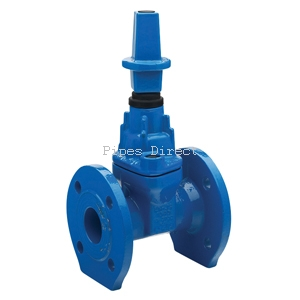 Ductile iron soft seated gate valve bs 5163 pn16 for Water pipe noise reduction