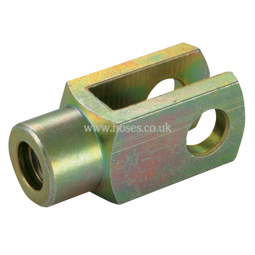 Camloc mild steel clevis fork end fitting gas spring