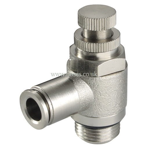 Kelmk tube metric and bspt speed control valve one