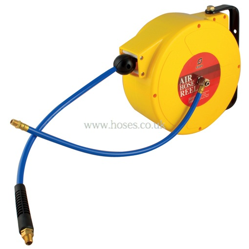 Wall and Ceiling Mount Hose Reel for Compressor Air and Cold Water