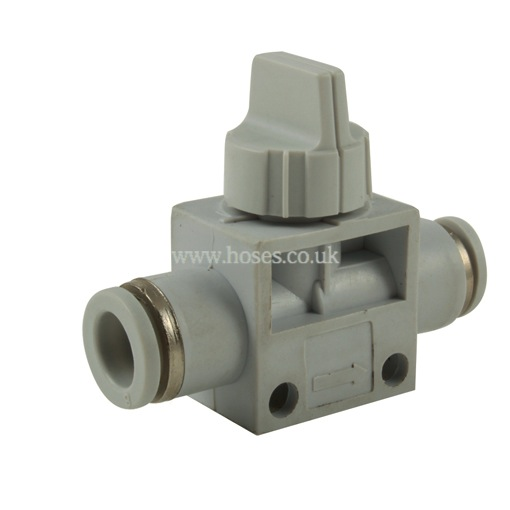 Kelmk tube manual shut off valve one touch