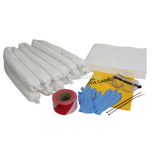 Hy-Fitt Oil Only, Small Spill Absorbent Refill Kit, Hydraulic