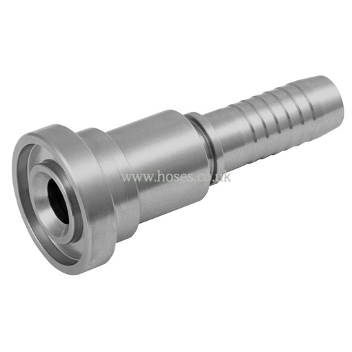 Straight flange sae psi hydraulic stainless steel