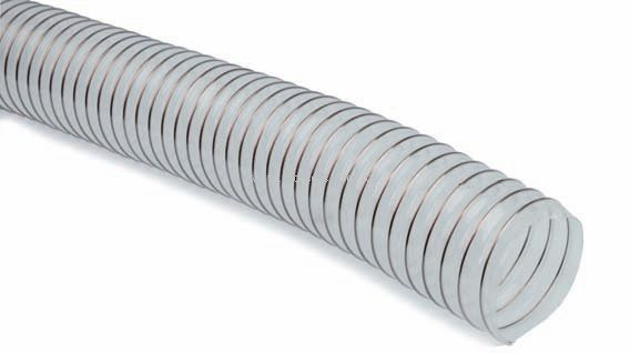 Polyurethane Clear Flexible Ducting [PUR-51] - £102.60 : Hoses Direct