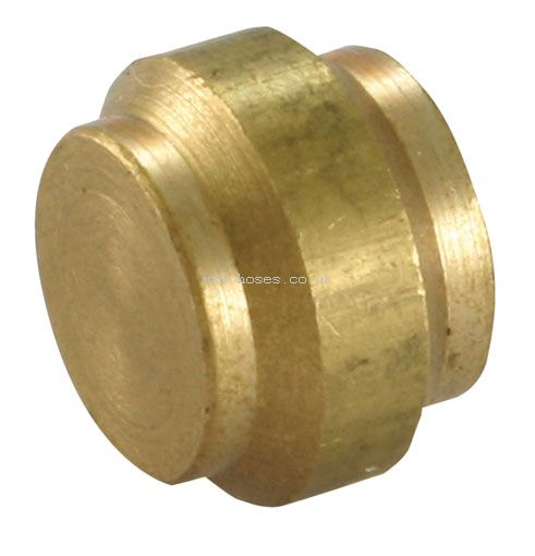 Wade metric blanking plug brass compression fittings