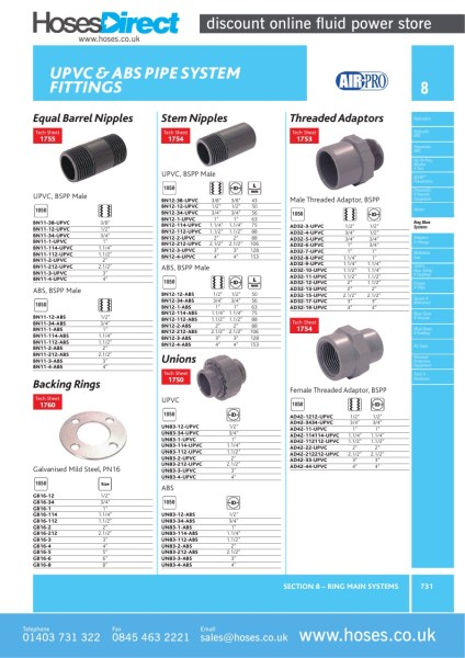 Air pro cap upvc pipe system fitting p £