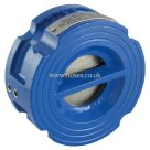 PN16/10 & ASA 150, Universal Flange Mounting, Art 121, Cast Iron Wafer Check Valve