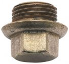 BSP Flanged Blanking Plugs Imperial Brass Compression Fitting