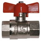 Female Red T Handle Ball Valve