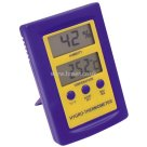 ETI Dual Display with Audible Alarm, Hydromitter Thermometer, Industry