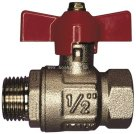 Type BV93 Male x Female T Handle Full Flow Ball Valve Brass itap