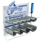 Jubilee, Mild Steel, Zinc Protected, Clip Dispenser, Clamp and Hose Clip