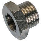 Hexagon Head, Male Thread BSPP X Female Thread, BSPP Reducing Bush Nickel Plated Brass Adaptor