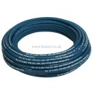50 Metre Coil, 1 Wire, Blue Cold Water Pressure Wash Hose, Wash Down