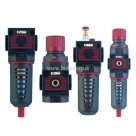 "Air Comp 1/2"" BSPP, Combination Set, Series 075, Filter/Regulator/Lubricator/Filter Regulator, Air Preparation"