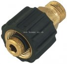 Male Thread, BSPP X Female Thread, Metric Pressure Washer Adaptor
