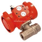 Prisma BSPP, Single Acting, Spring Return, Pneumatic Actuated Brass Ball Valve