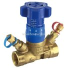 BSPP, DZR Brass, Art 28, Variable Orifice, Commissioning Valve