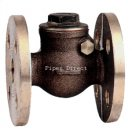 Bronze Swing Check Valve - Flanged PN16