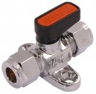 Type 6500 Tube Gas Mini Ball Valve Brass AIGNEP British Gas Approved