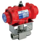 Prisma BSPP, Double Acting, Pneumatic Actuated Stainless Steel High Pressure Valve