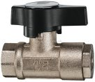 Type BV210 Female High Pressure 2 Way Valve Brass AIRPRO
