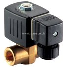 Burkert BSPP, Brass, Type 6240, 2/2 N/C Servo Assisted for High Pressure, Solenoid Valve
