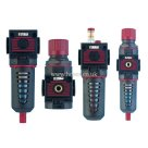 "Air Comp 3/8"" BSPP, Combination Set, Series 050, Filter/Regulator/Lubricator/Filter Regulator, Air Preparation"