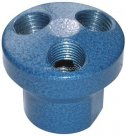 "1/4"" BSPP Inlet, 3 x 1/4"" BSPP Outlet Triple Manifold"