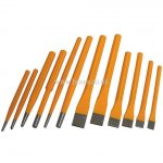 12 Piece, Punch & Chisel Set, Engineers Tool, Hardware & PPE