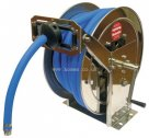 Redashe Compact Stainless Steel Hose Reels - Wall and Floor Mounts - Without Hose