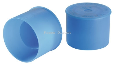 Blue Ldpe Unf O Ring Face Steel Caps 110187 163 0 28