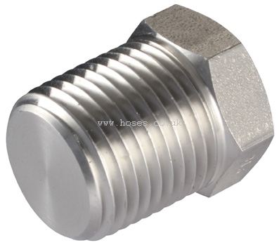 NPT Plugs 10,000 PSI Rated, 316 Stainless Steel Adaptors ...