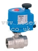 High Voltage 100-240V AC Electrically Actuated Brass Ball Actuator Valve ISO5211 BONOMI GROUP