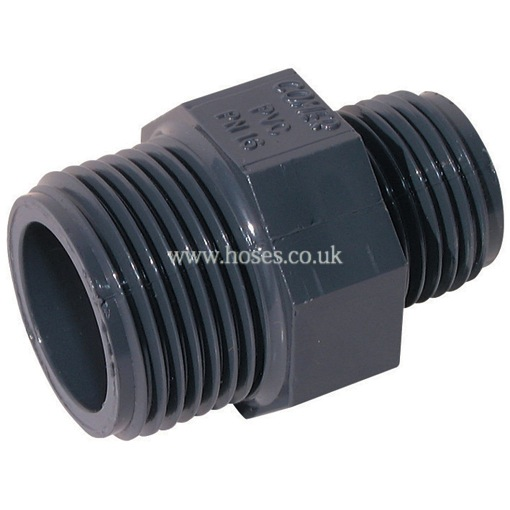 Air pro bspp male reducing nipple threaded pvc fitting