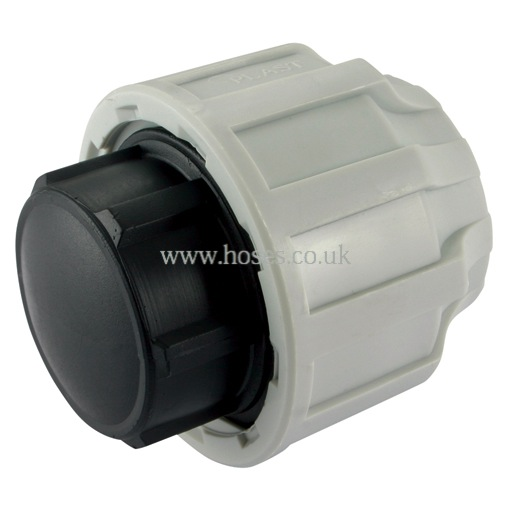 Air pro tube end plug compression fitting for