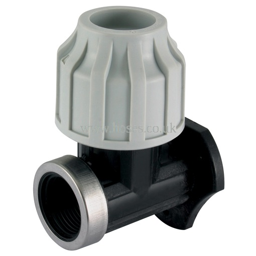Air Pro Bspp Wall Support Bracket Compression Fitting
