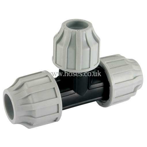 Air Pro Branch 90o Reducing Tee Compression Fitting For