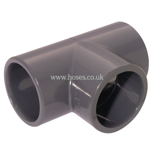 Air pro equal tee upvc pipe system fitting p