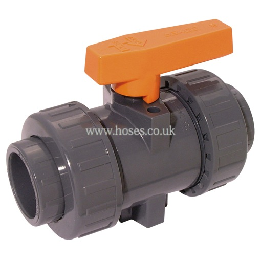 Air pro industrial ball valve double union epdm seal