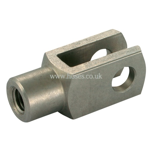 Camloc stainless steel clevis fork end fitting gas