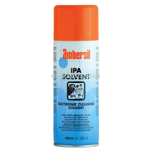 Ambersil Isopropyl Alcohol Electronic Solvent Ipa