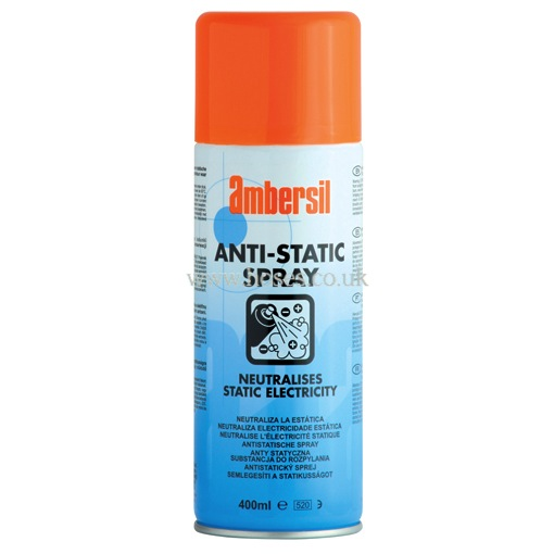 ambersil anti static spray cleaning p21311741 hoses direct. Black Bedroom Furniture Sets. Home Design Ideas