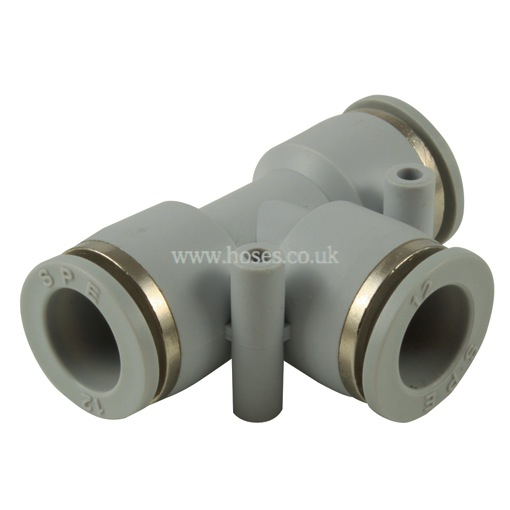 Kelmk equal tee tube connector one touch plastic