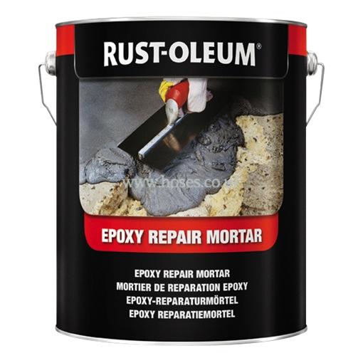 Rust Oleum Epoxy Repair Mortar Floor Coating Maintenance