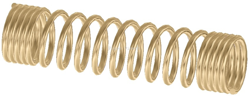 Zinc Plated Spring Guard Spmw 163 1 88 Hoses Direct